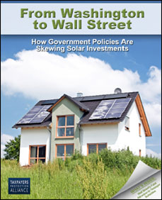From Washington to Wall Street - How Government Policies Are Skewing Solar Investments